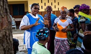 MDG Esther Worae, midwife in Ghana