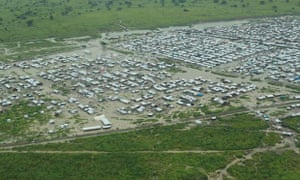MDG UN camp near Bentiu, South Sudan