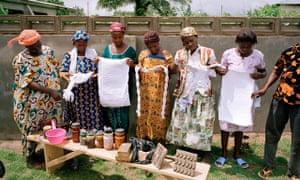 MDG women in Ghana