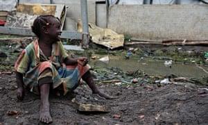 MDG girl in South Sudan