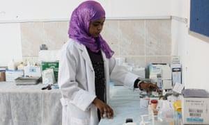 MDG aid worker in Libya