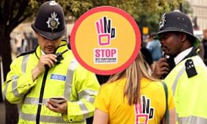 MDG anti-trafficking demo in London