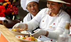 MDG Peruvian food