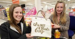Sainsbury's shoppers snap up designer bags | Environment