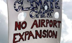 Heathrow climate camp
