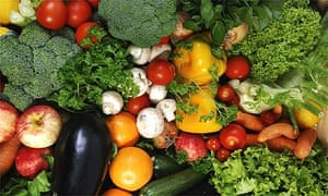 Organic vegetables from Abel and Cole