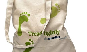 Tread lightly bag