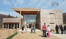 Dalby Forest visitor centre, North Yorkshire