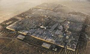 Artist's impresson of Masdar, Abu Dhabi