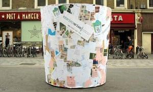 The Envirowise 'One Bin Day' bin