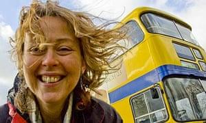 Bridget Strawbridge and her Big Green Bus
