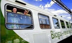 Sweden's biogas train