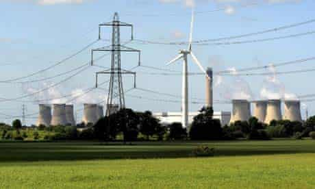 Yorkshire, UK: Cooling towers at Drax power station