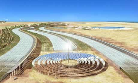 Sahara forest project - seawater greenhouse