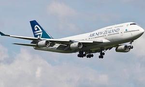 Air New Zealand plane flown on second-generation biofuel