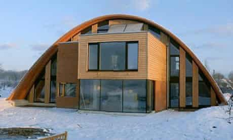 Eco home called Crossway located near Staplehurst in Kent featured on Grand Designs. Photograph: Channel 4