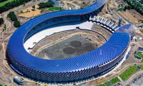 taiwan's solar-powered stadium