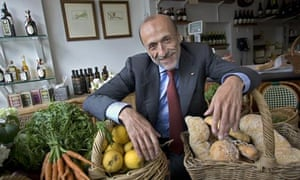 Carlo Petrini, the founder of the Slow Food movement