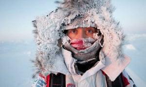 Ann Daniels of the Catlin Arctic Survey