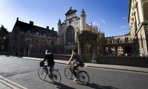 peterhouse university cycle