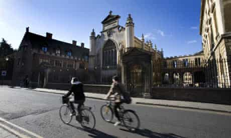 peterhouse university cycle