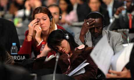 UN climate change conference, December 2009
