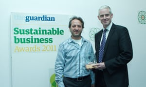 GSB awards - Innovator of the Year Mike Barry