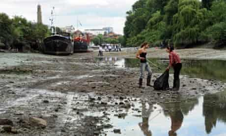 Thames cleanup