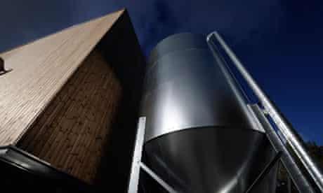 Biomass fuel silo