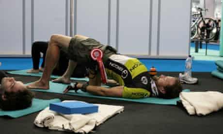 Bike blog: yoga exercises for cyclists