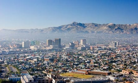 Dry state ... a view over El Paso, Texas.