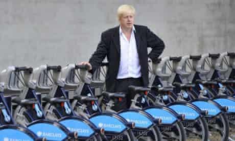 Bike blog: Boris Johnson
