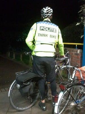 Bike blog - polite jacket