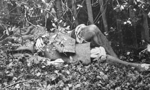 The body of Dagmar Petzywalski, in a hedgerow near a road at Wrotham Hill, Kent