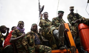 M23 rebels drive through Goma