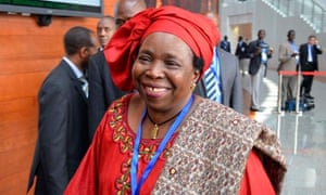 South African Nkosazana Dlamini-Zuma is the first woman to lead the African Union