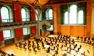 St Luke's church in Old Street has been converted into a performance space for the LSO