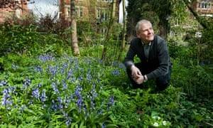 Chris Baines, urban wildlife gardener