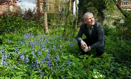 Chris Baines, urban wildlife gardener