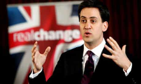 Miliband Q&A session in Corby