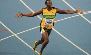 Jamaica's Usain Bolt
