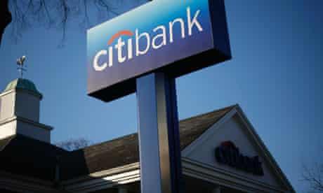 A Citibank branch in Port Washington