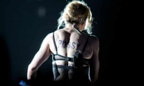 Madonna in concert in Moscow, Russia