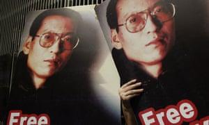Liu Xiaobo posters