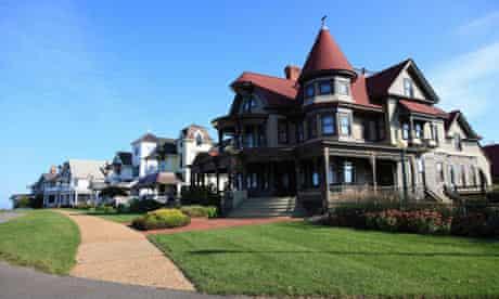 Martha's Vineyard, Massachusetts, where most of Klaussmann's novel is set