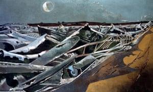 Totes Meer by Paul Nash