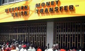 MDG: Western Union offices, Monrovia, Liberia