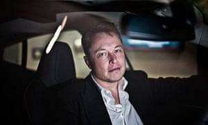 Elon Musk Tesla electric car chief executive