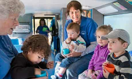 Mel Clarke on her Community Bus