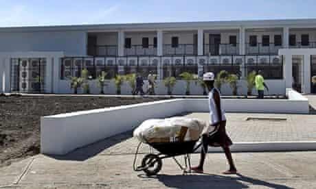 Mirebalais hospital in Haiti